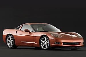 2005 Corvette Coupe
