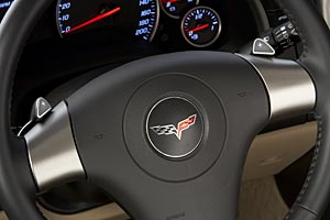 2006 Corvette Paddleshift