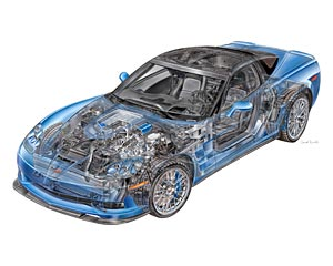 2012 Corvette ZR1 Structure